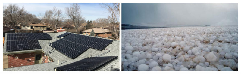 Can Hail Damage Solar Panels Are Solar